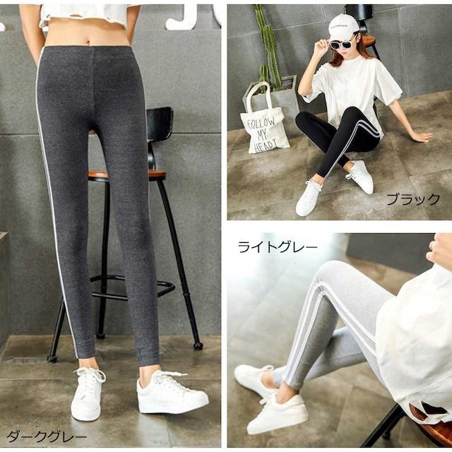 【メール便可】サイドラインレディース パンツ レギンスパンツ < 女性ファッションの