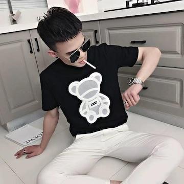 半袖tシャツの男insファッションファッション夏