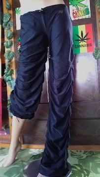 JD†総シャーリング裾絞り付パンツ!B系ダンサーローギャルLow