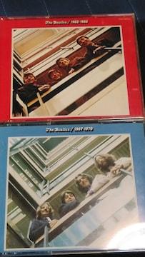 THE BEATLES(ビートルズ) 赤盤&青盤セット 計4枚組ベスト 国内盤
