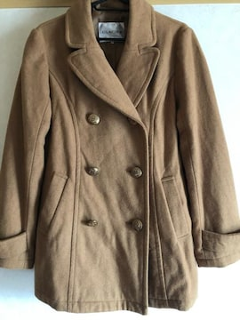 ジャケットコート 茶色 L