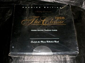 激レア 1998 ザ・クラシック 未開封1BOX 競馬カード