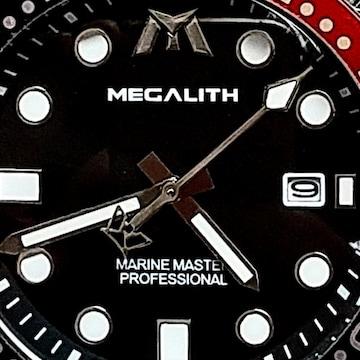 #訳あり ベゼルは飾り品 ツナ缶 MEGALITH 腕時計
