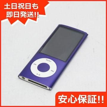 ●安心保証●良品中古●iPOD nano 第5世代 16GB パープル●