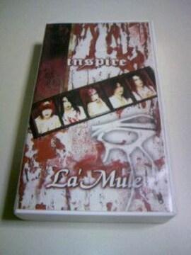廃盤ビデオ inspire La'Mule/V系 ヴィジュアル系 PV インスパイア ラムール VHS