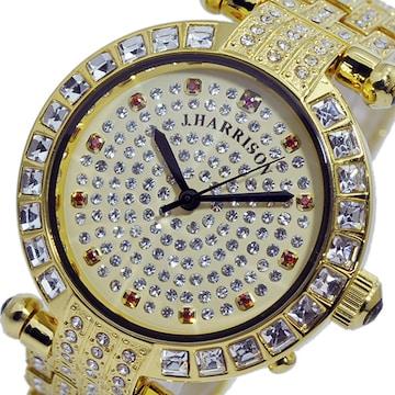 ジョンハリソン ソーラー 電波 メンズ 腕時計 JH-088MG