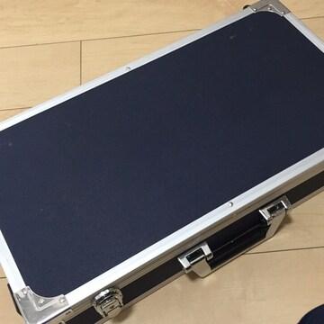 傷汚れあり☆エフェクターハードケース☆紺☆エフェクターボード