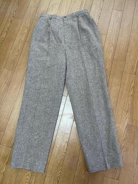 Y118 美品 バーバリー ゴルフ スラックスパンツ ボトムス L