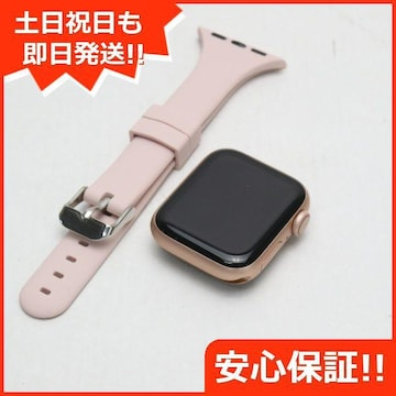 ●美品●Apple Watch series4 40mm GPS+Cellular ゴールド●