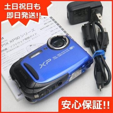 ●安心保証●美品●FinePix XP80 ブルー●