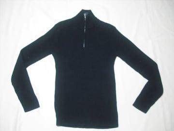 24 男 NAUTICA ノーティカ 黒 セーター M