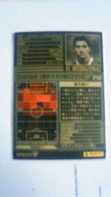 0607 WFW イブラヒモビッチ < トレーディングカードの