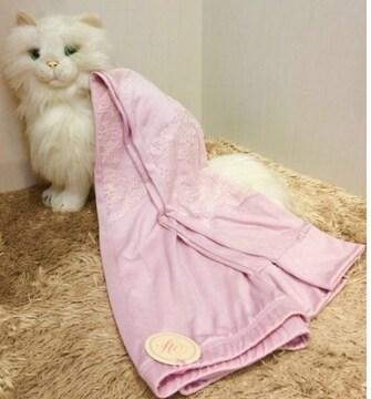 ルサロンディ☆レイシーストレッチパンツ☆ピンク