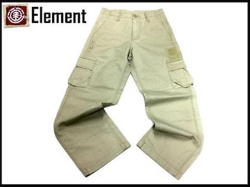 Elementエレメントスケートストリートカーゴパンツ26インチ