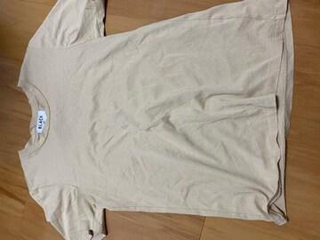 moussy ベージュTシャツ