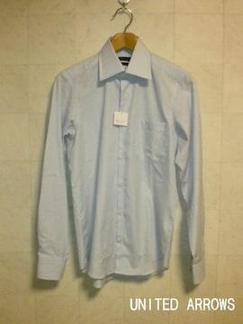 □ユナイテッドアローズ SLIM FIT ドレスシャツ/メンズ・37☆新品