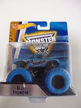 .ホットウィール MONSTER JAM モンスタージャム BLUE THUNDER