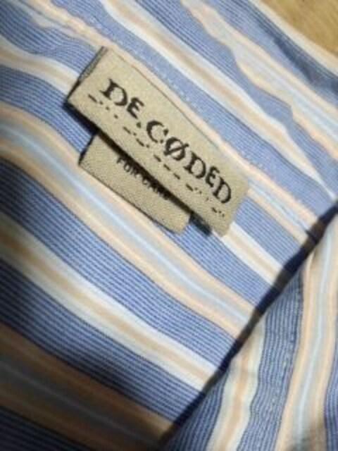 アメカジ ストライプシャツ デコデッド < 男性ファッションの