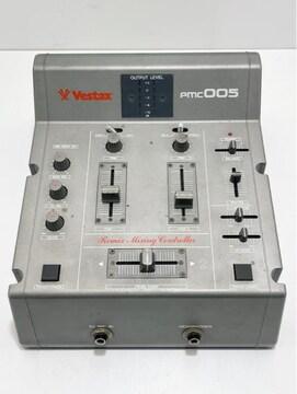 Q030 B★ Vestax ベスタクス PMC005 DJミキサー 通電OK