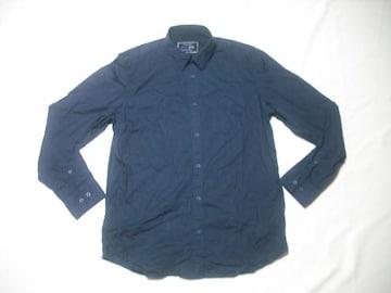98 男 CK CALVIN KLEIN カルバンクライン 黒 長袖シャツ Mサイズ