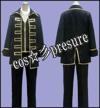 銀魂 真選組隊服 金縁◆コスプレ衣装