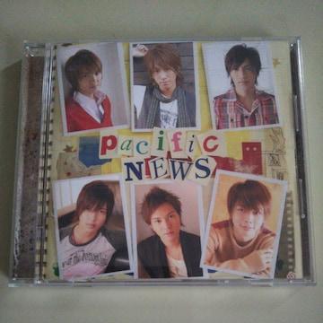 NEWS◇Pacific 初回生産限定盤 CD ◇中古