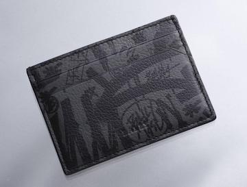 K0599M 美品 バリー グラフィック 本革 カードケース ITALY製
