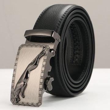 ベルト 本革 オートロック 高級ベルト 110cm〜125cm 310