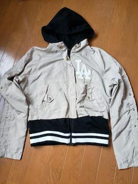☆新品☆LB-03☆ベージュ×ブラック ジャケット