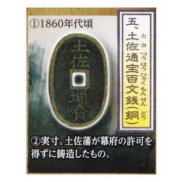 古銭コレクション 第13弾 幕末・明治・大正編 土佐通宝百文銭 ガチャポン