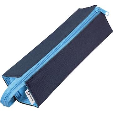 コクヨ ペンケース 筆箱 ペン立て C2 ネイビー×ブルー
