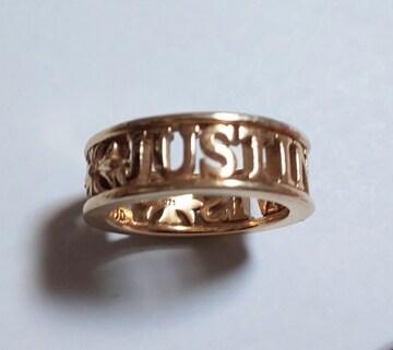 JustinDavisピンクゴールドMADLOVE指輪ジャスティンデイビス王冠