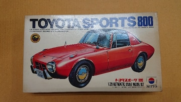 ニットー 1/20 TOYOTA  SPORTS 800