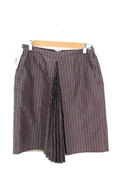 kolor(カラー)総柄プリーツ切替スカートプリーツスカート