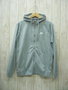 即決☆ナイキ スウェット ジャケット+カフパンツ GRY/S 上下セット 新品