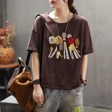 新婦人服大サイズゆとり半袖tシャツ女性夏2021韓国版