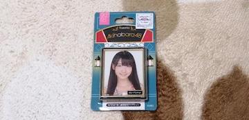 AKB48柏木由紀☆AKB48推し劇場壁写マグネット!