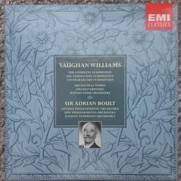 KF ウィリアムズ 交響曲全集&管弦楽作品集8CD ボールト