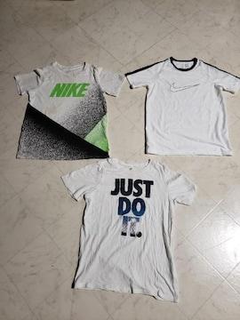ナイキTシャツ3枚セット キッズMサイズ