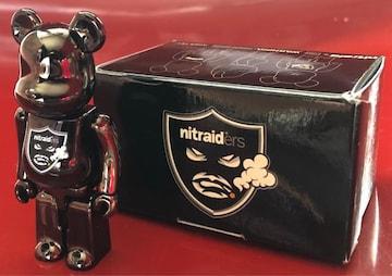 《ナイトレイド》100% ベアブリック フィギュア NITRAID nitrow