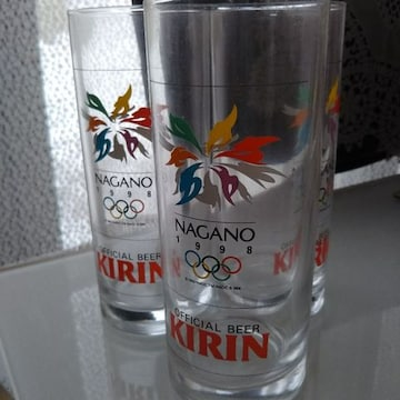 NAGANOオリンピック記念グラス