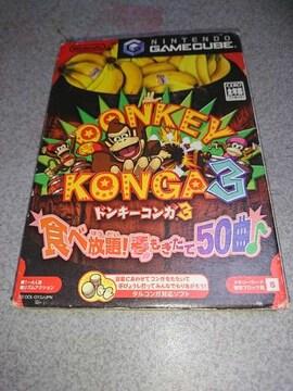 任天堂ゲームキューブ!箱説あり!ドンキーコンガ3!ソフト!