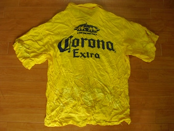 CORONA  コロナ ビール ハワイアンシャツ USA-XL