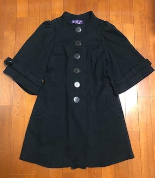 セレブ愛用ブランドVaVa☆黒コート