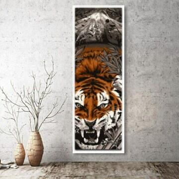 虎 トラ タイガー インテリア ポスター 掛け軸