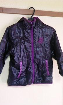 黒&紫〓中綿〓ジャンパー〓140cm〓