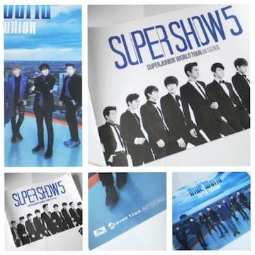 SUPER JUNIOR★DVD Super Show 5など特典ポスター2点