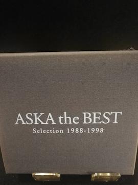 ASKA ミュージックCD the  BEST  曲目画像掲載 送料無料