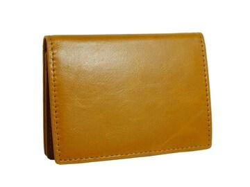 ジョンハリソン カードケース メンズ JWT-004-YELLOW イエ