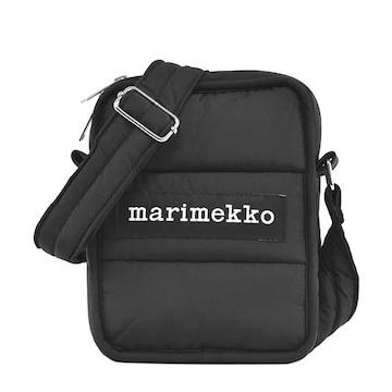 ◆新品本物◆マリメッコ LEIMEA ショルダーバック(BK)『049257』★